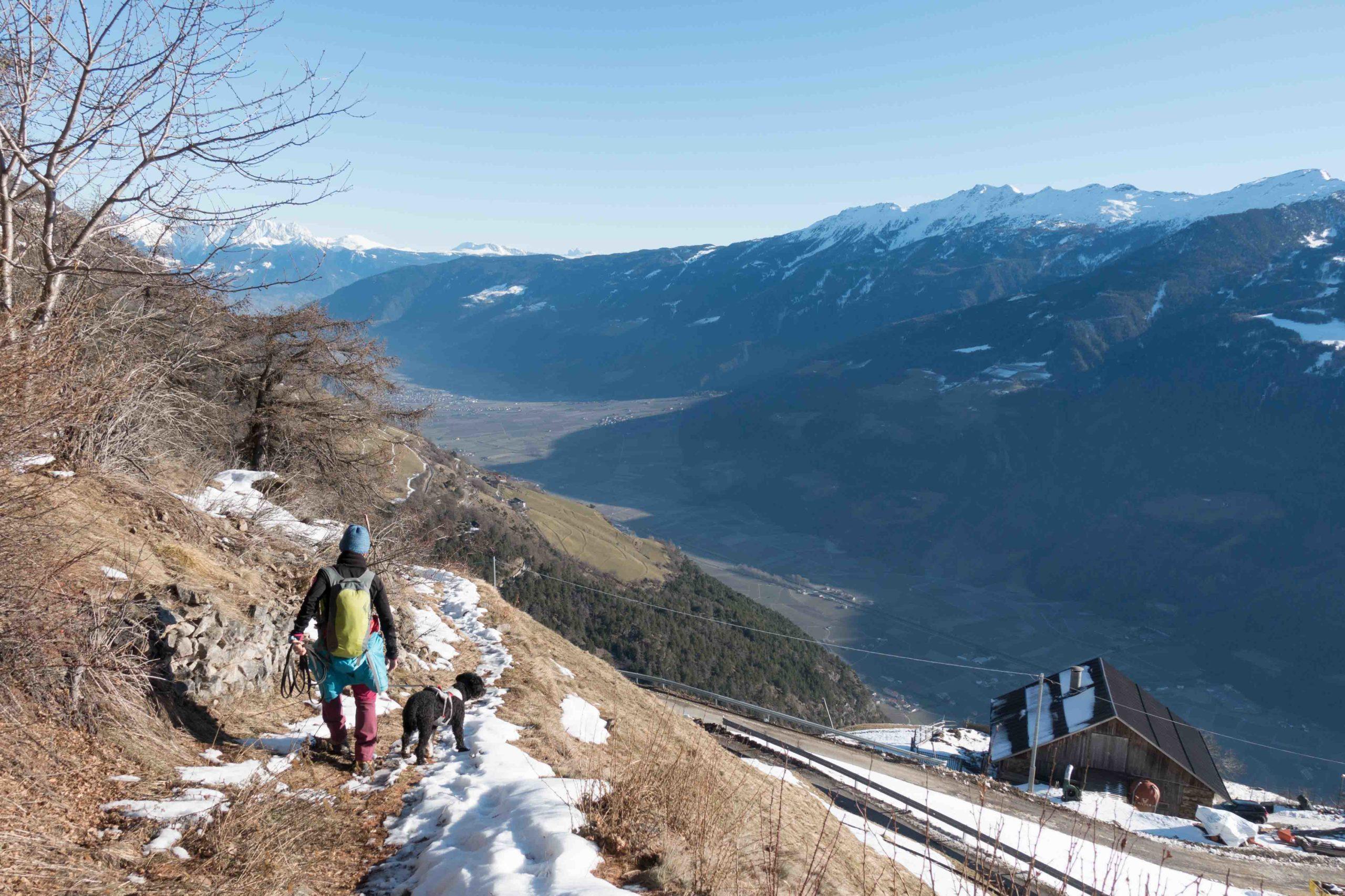 Vorsilvester-Wanderung auf dem Vinschger Höhenweg – Indi erzählt